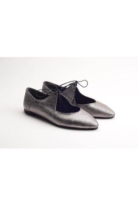 Comert Ayakkabı Gümüş Bayan Ayakkabı