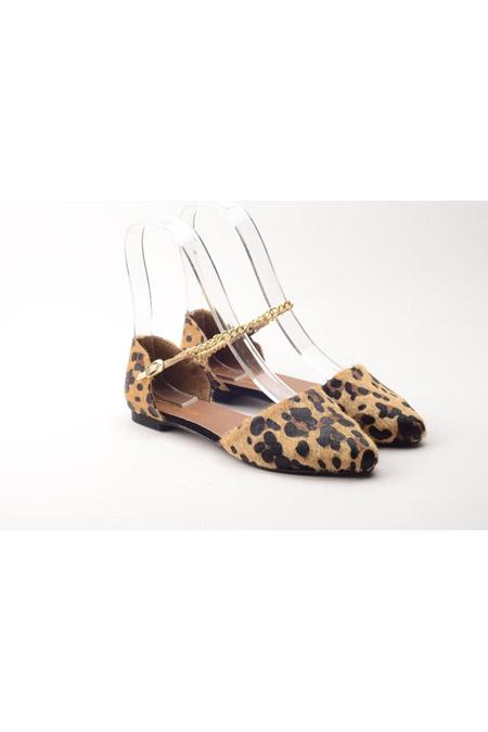 Comert Ayakkabı Leopar Bayan Ayakkabı