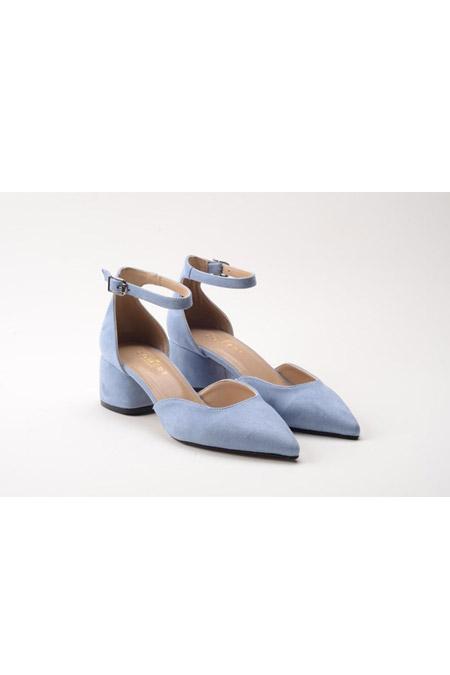 Comert Ayakkabı Mavi Süet Ayakkabı