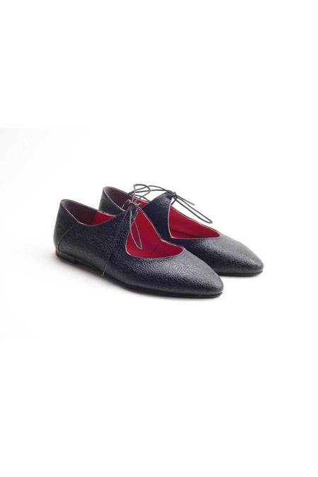 Comert Ayakkabı Siyah Bayan Ayakkabı
