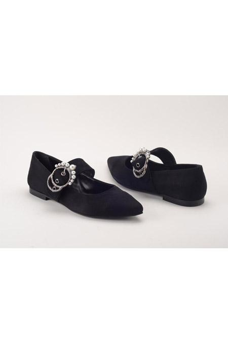 Comert Ayakkabı Siyah Süet Ayakkabı