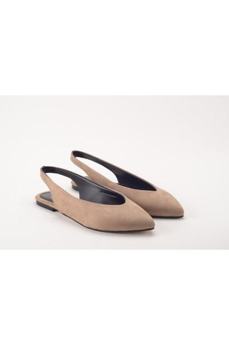 Comert Ayakkabı Vizon Bayan Ayakkabı