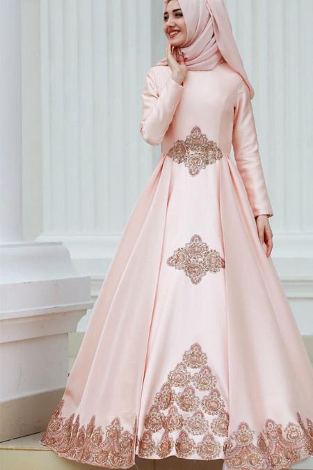 Gamze Özkul Somon Kayra Abiye Elbise