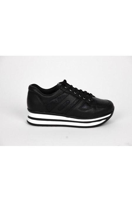Marcatelli Siyah Spor Ayakkabı