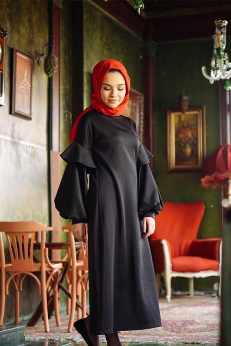 BEEB Siyah Elbise