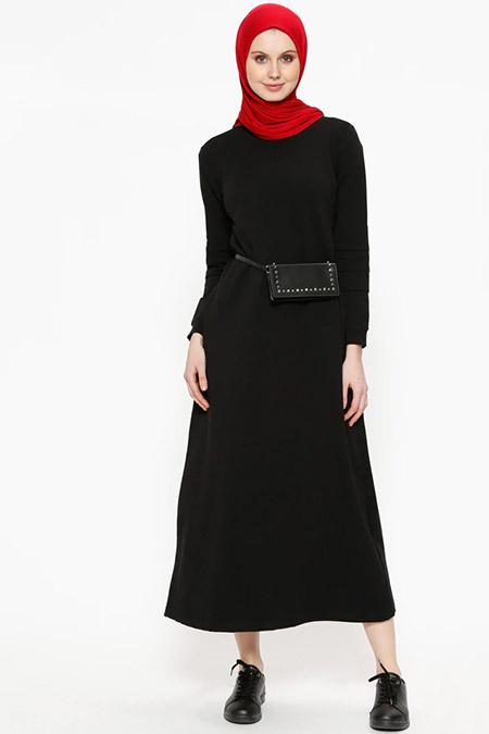 cd9d7044feeba Bwest Siyah Düz Renkli Spor Elbise Online Satış, İndirimli Satın Al
