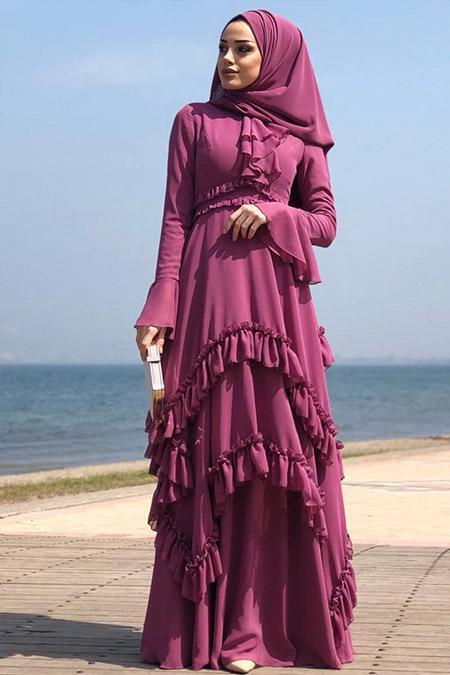 Eldia By Fatıma Gül Kurusu Gülbahar Abiye Elbise