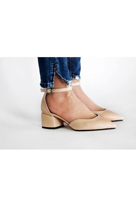 Marcatelli Bilekten Bağlı Topluklu Ayakkabı