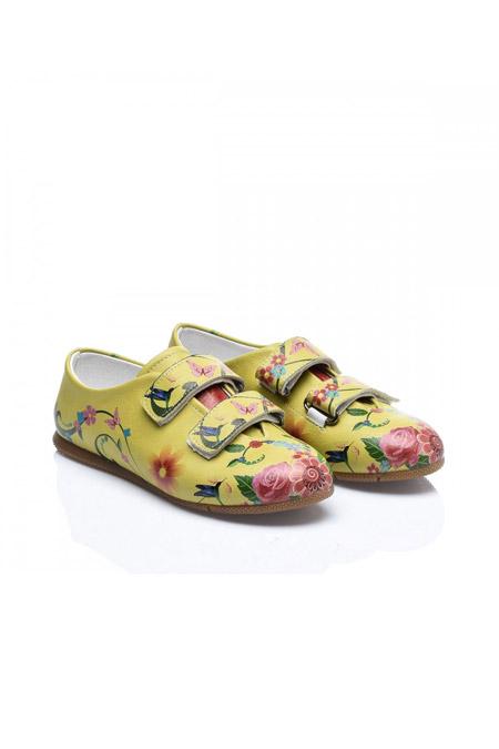 Baskılı Kadın Ayakkabı