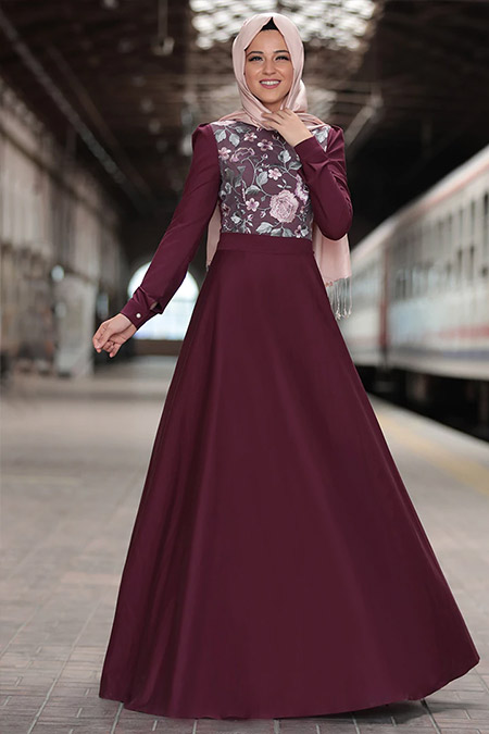 Al Marah Mürdüm Zara Elbise