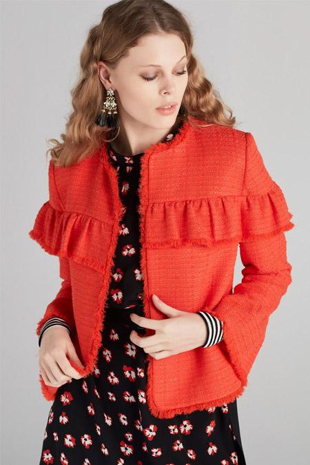 İpekyol Nar Çiçeği Ceket