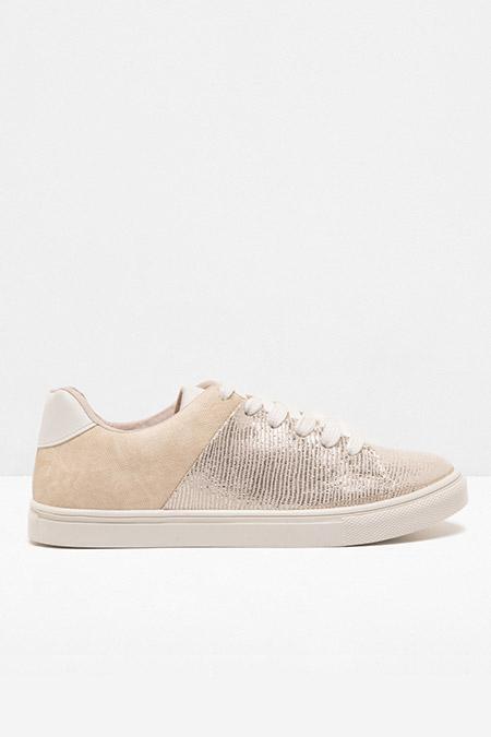 Koton Altın Bağcıklı Spor Ayakkabı