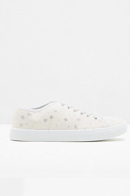 Koton Beyaz Bağcıklı Ayakkabı