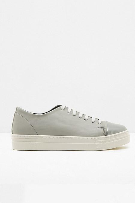 Koton Gri Bağcıklı Ayakkabı