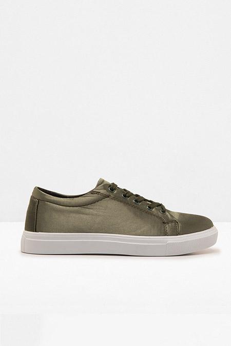 Koton Haki Bağcıklı Ayakkabı