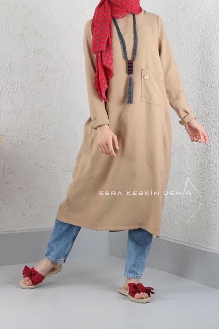 Esra Keskin Demir Camel Mia Tunik