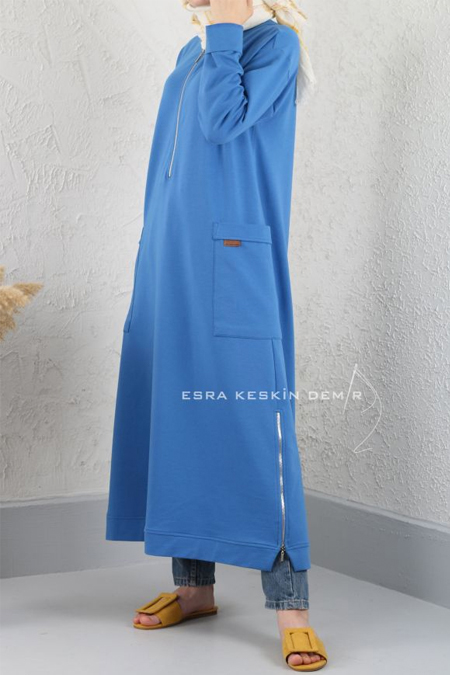 Esra Keskin Demir Mavi Limni Tunik