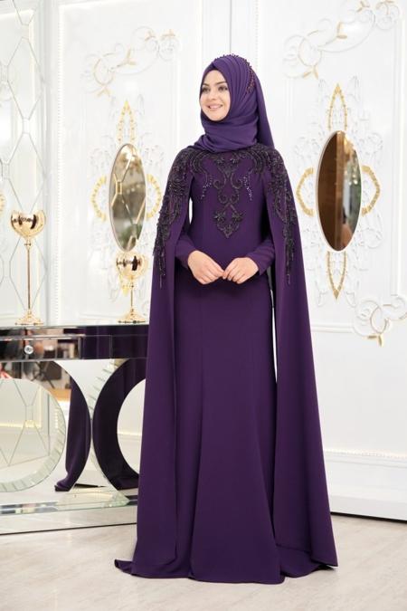 Pınar Şems Mor Asya Abiye