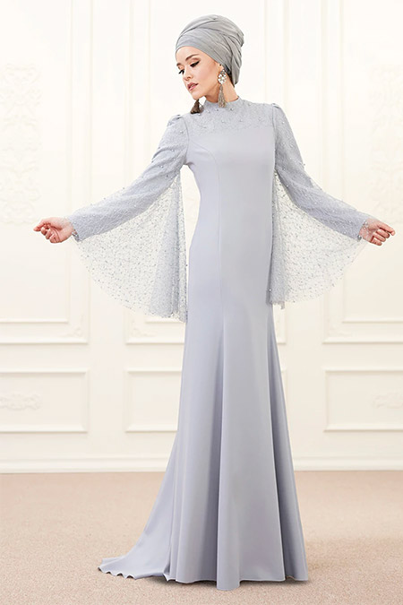 An-Nahar Bebe Mavisi Mina Abiye Elbise