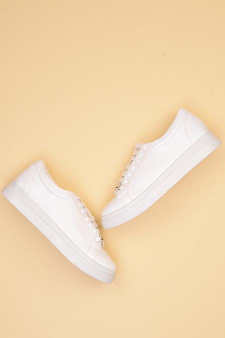Bambi Beyaz Kadın Ayakkabı
