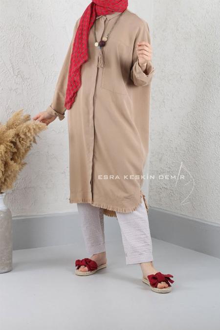 Esra Keskin Demir Camel Didim Tunik