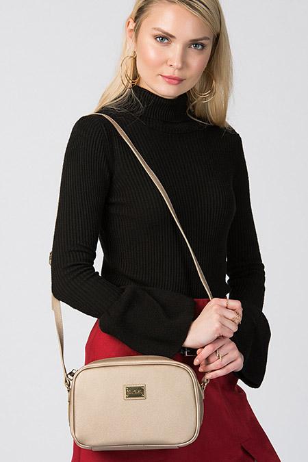 Pierre Cardin Altın Rengi Kadın Çanta
