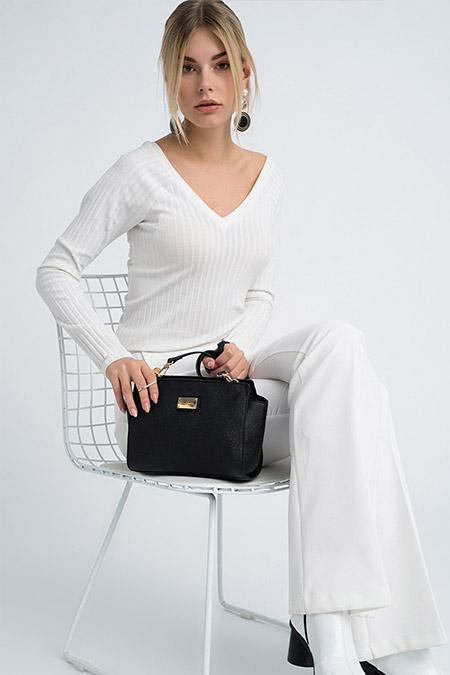 Pierre Cardin Siyah Kadın Çanta