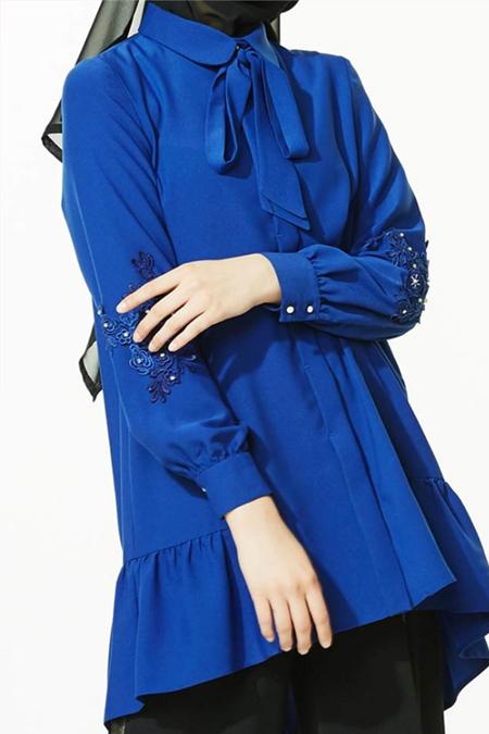 Kayra Mavi Tunik