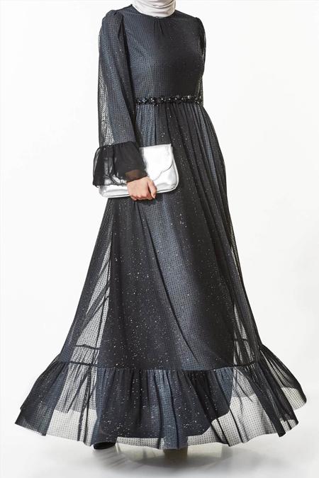 Kayra Siyah Elbise