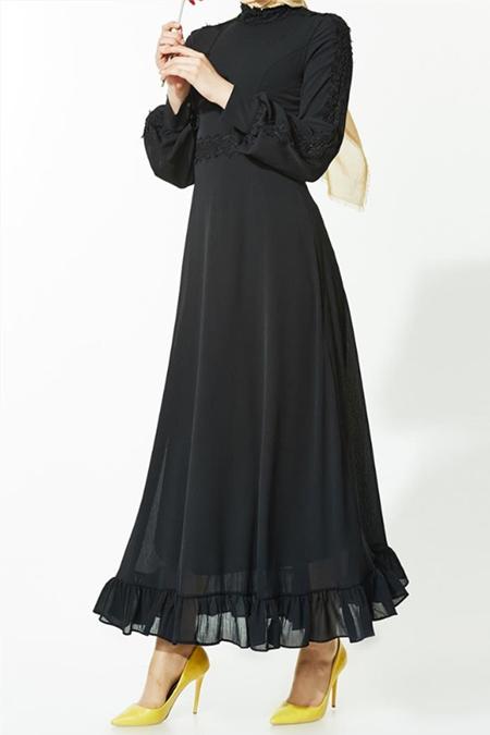 Mood Elite Siyah Elbise
