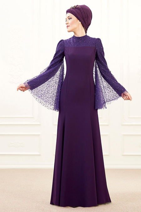 An-Nahar Mor Mina Abiye Elbise