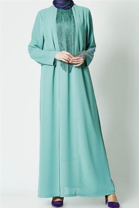 Armine Yeşil Elbise