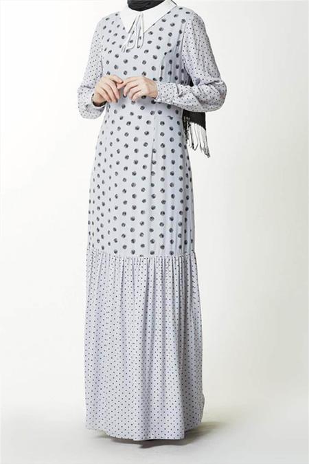Kayra Gri Elbise