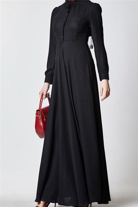 Nihan Siyah Elbise