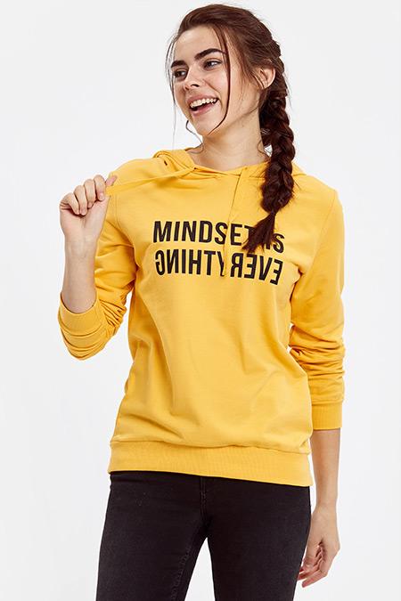 LC WAIKIKI Sarı Sweatshirt