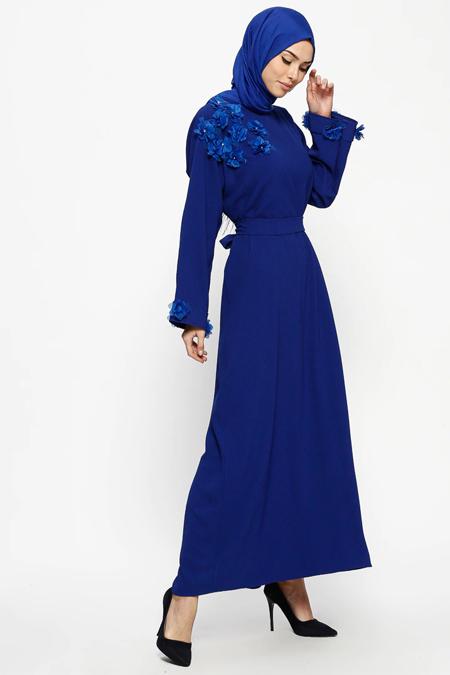 Tuncay Saks Kuşaklı Elbise