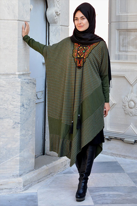 Henna Elısa Yeşil Damla Panço