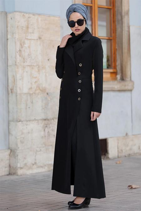 Piennar Siyah Karaca Ceket & Pantolon İkili Takım
