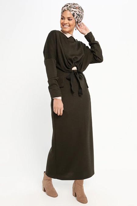 Loreen By Puane Haki Bluz&Etek İkili Takım