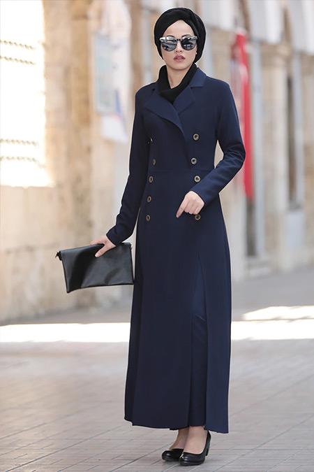 Piennar Lacivert Karaca Ceket&Pantolon İkili Takım