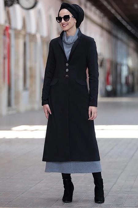 Piennar Siyah Yaren Ceket