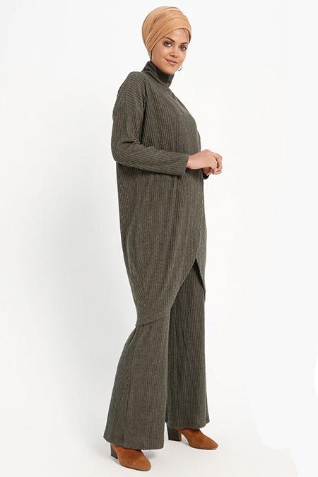 Loreen By Puane Haki Tunik&Pantolon İkili Takım