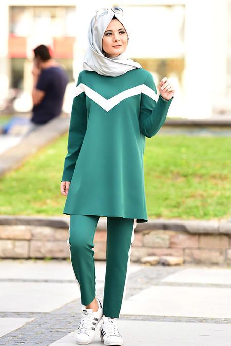 Nurgül Çakır Yeşil Mia İkili Takım