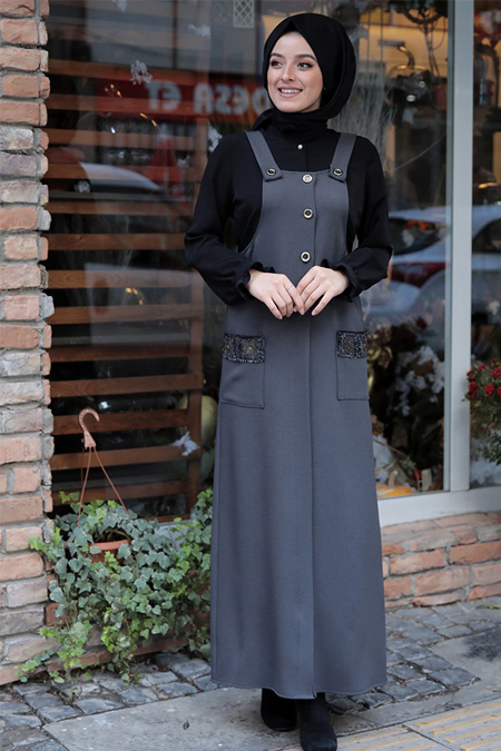 Zehrace Füme Jile Elbise