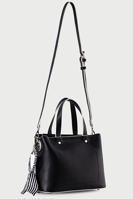 5f420be030fbd Ipekyol Siyah Fular Aplikeli El Ve Kol Çantası Online Satış ...