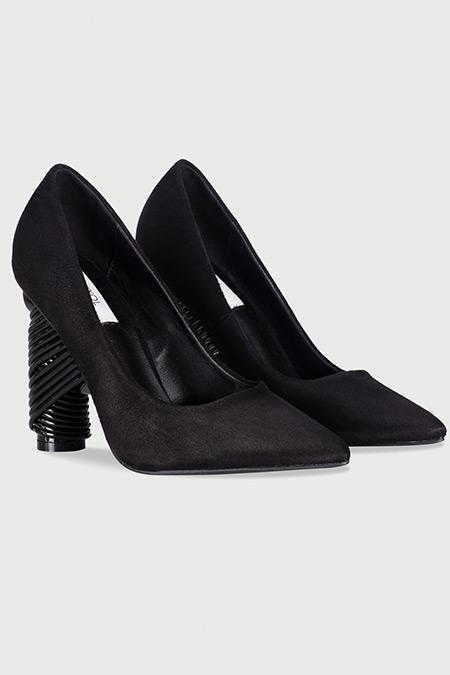 Ipekyol Siyah Topuk Detaylı Stiletto