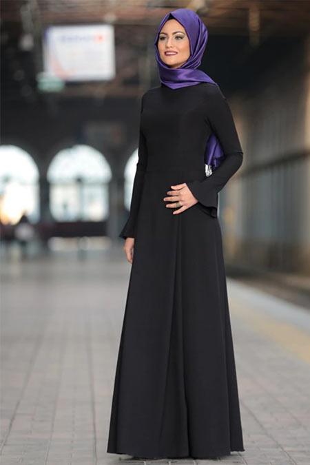 Al-Marah Siyah Lara Elbise