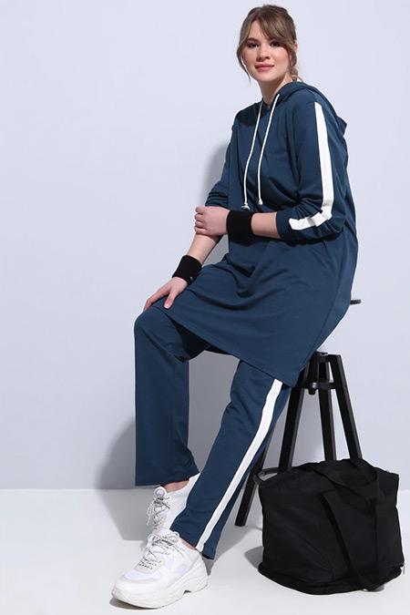 Alia Petrol Spor Tunik&Pantolon İkili Takım