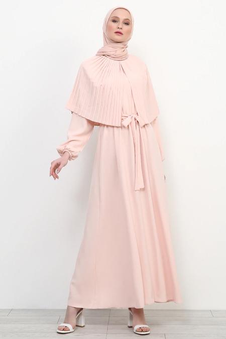 Refka Pudra Piliseli Elbise