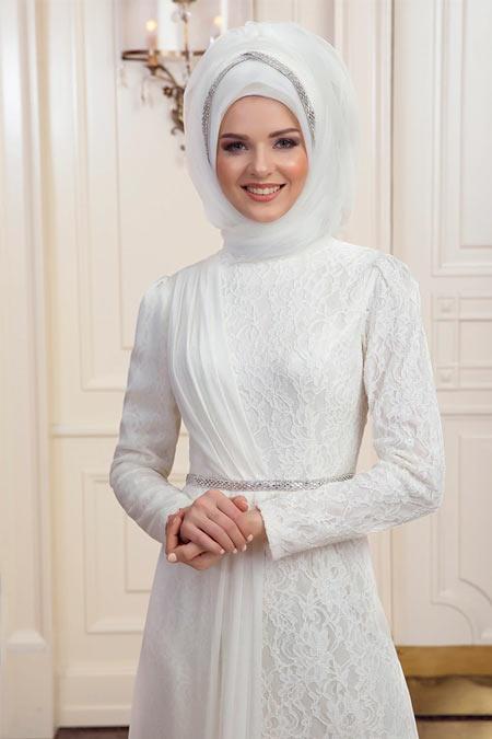 An-Nahar Ekru Nehar Abiye Elbise